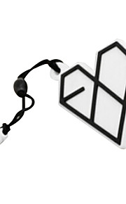 exo Liebe Logo Marke Telefon Staubstecker
