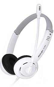 DANYIN DT-326 Kopfhörer (Kopfband)ForMedia Player/Tablet PC / Handy / ComputerWithMit Mikrofon / DJ / Lautstärkeregler /