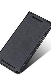전체 케이스 지갑 케이스 / 스탠드 케이스 / 자동 재우기/깨우기 / 울트라-씬 한색상 천연 가죽 소프트High quality genuine leather,Slim Design and Perfectly Fit your phone,stand