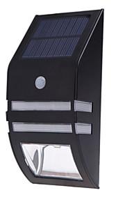 Jiawen 50lm 6500k solcelledrevet vegg kroppen induksjon lampe