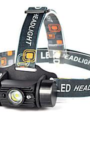LED손전등 LED 1 모드 600 lumens 루멘 방수 / 충전식 / 충격 방지 / 스트라이크베젤 / 컴팩트 사이즈 / 응급 / 나이트 비젼 / 슈퍼 라이트 / 높은 전력 LED 18650캠핑/등산/동굴탐험 / 일상용 / 사이클링 / 사냥 /