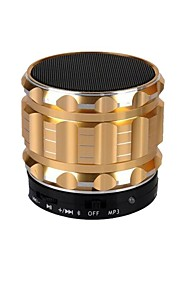 Gold bluetooth drahtlose tragbare Stereo-Karte Lautsprecher