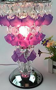 perlas de sensor de contacto pétalos lámpara de la fragancia se arremolinan lamparita de mesa decorativa