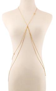 Kropskæde Legering / Guldbelagt Sexy / Bikini Gylden Smykker,1pc