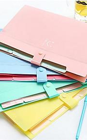 Multifunktion Dateiordner,Kunststoff 2 Packs