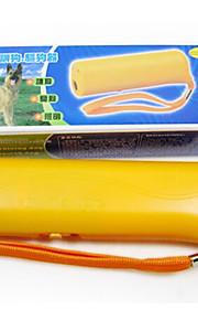 강아지 훈련 전자 휴대용 CD- 100 플라스틱 옐로우