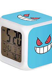 Poke Ball Colorful Flash Cartoon Alarm Clock-30#