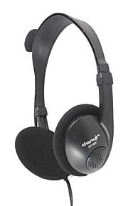 DANYIN DT-301 Kopfhörer (Kopfband)ForMedia Player/Tablet PC / Handy / ComputerWithMit Mikrofon / DJ / Lautstärkeregler /