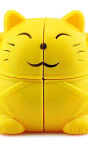 Cubos Mágicos / Puzzle brinquedo Cube IQ Yongjun Duas Camadas / Alienígeno / Cube velocidade lisa Magic Cube quebra-cabeça Amarelo