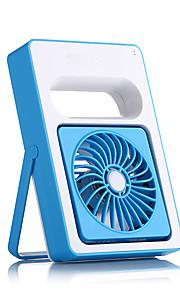 mini bærbare usb støjsvage ventilatorer vinkel justerbar