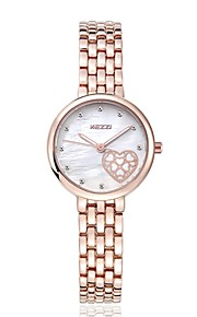 Hongkong KEZZI  love face jewelry lady quartz gift watches1453