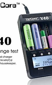 Li - ion Digital NiCd NiMH Battery Charger (US Plug) - US PLUG  PURPLISH BLUE