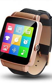 Heren Slim horloge Digitaal Aanraakscherm / Afstandsbediening / Kalender / alarm / Stappenteller / Fitness trackers / Stopwatch Leer Band