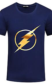 Running T-shirt / Sweatshirt men's Short Sleeve Breathable / Quick Dry / Sweat-wicking / Compression Nylon