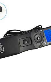 sidande® lapso de tempo intervalometer controle remoto do obturador temporizador 7103 lcd para Sony A300 / A350 / A700