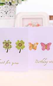 New Year Greeting Cards Diy Creative Personality Cute Little Cartoon Card Postcard Greeting Card Mini-1507