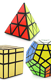 Shengshou® Magiske terninger Pyraminx / Alien / MegaMinx Spejl / Professionel Level Glat Speed ​​Cube Sort Fade glat StickerAnti-pop /