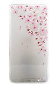 כיסוי אחורי Bisque פרח אקרילי קשיח Case כיסוי Samsung Galaxy A5(2016) / A3(2016)