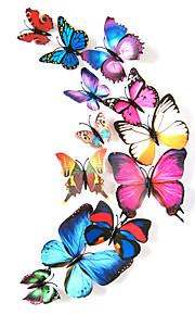 Animais Wall Stickers Autocolantes 3D para ParedeAutocolantes de Parede Decorativos / Autocolantes de Frigorífico / Autocolantes de