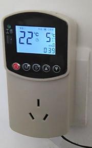 digitala elektroniska mätare temperatur (mätområde: -10 ~ 110 ℃, plug-in ac - 220v)