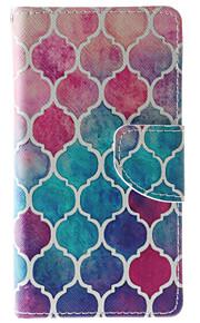Cuerpo Completo billetera / Soporte de Tarjeta / A Prueba de Golpes / A Prueba de Polvo / con el soporte Color Camuflaje Cuero Sintético