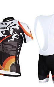 Cycyling PaladinSport Men Shirt + Straps Shorts Suit BKT653 Sports Field