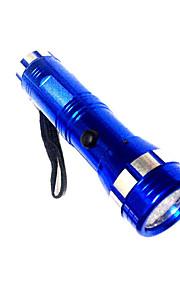 LED Lommelygter LED 1 Tilstand 50 Lumens Nødsituation LED AAA Camping/Vandring/Grotte Udforskning / Dagligdags Brug-Andre,Sort / Blå