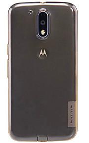 Skal Stötsäker / Ultratunn / Bisque Solid Färg TPU Mjuk Fallet täcker för Motorola Other