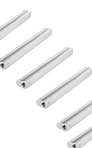 KWB 6 Pack of T5 LED Tube Light ,1Ft,4W,Warm White/Cool White Fluorescent Replacement Light Lamp