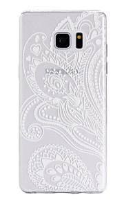 TPU Material Petal Pattern Cellphone Case for Samsung Galaxy Note 7