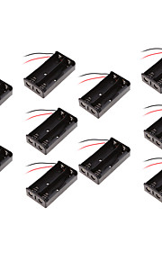 10PCS 18650 Battery Box Battery Box Two Sessions / 18650 Battery Box With Charging Dock Line