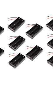 10шт 18650 батарейный блок коробки две сессии / 18650 коробка с док-станцией для зарядки линии