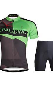 PaladinSport Women  Cycyling Jersey + Shorts Suit DT689 Green Move Era