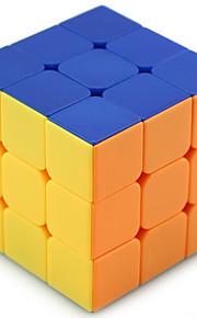 Shengshou® Let Glidende Speedcube 3*3*3 Professionelt niveau Minsker stress Magiske terninger Ivory Plastik