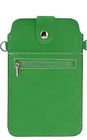 Cuerpo Completo billetera / Soporte de Tarjeta Color Sólido Cuero Sintético Suave Cubierta del caso para OtherOne Plus 3 / One Plus 2 /