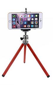 mini telefon tre teleskopiske justering wanxiangyun aluminium stativ trekant doven telefonholder
