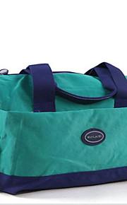 Viagem Bolsa de Viagem Organizadores para Viagem Tecido Azul / Verde / Roxa Other