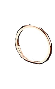 Ring,Band Rings,Jewelry Titanium Steel Fashionable Daily / Casual Rose Gold 1pc,6 / 7 / 8 Women