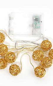 1pc 1.4m 10LED Schnurlicht für Urlaub Partei Hochzeit führte Weihnachtsbeleuchtung