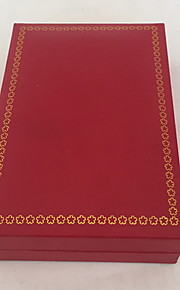 Smykkeskrin Papir 1pc Rød