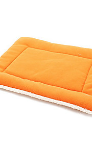 Cat / Dog Bed Pet Mats & Pads Breathable / Soft Cotton Green / Blue / Orange