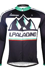 Ilpaladin Sport Men Long Sleeve Cycling Jerseys  CX705 Distant Mountains