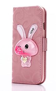 Ganzkörper Brieftasche / Kartenhalter / mit Ständer / Fließende Quicksand Flüssig Einheitliche Farbe PU - Leder Hart Fall-Abdeckung für