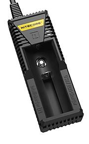 nitecore carregador inteligente digital de i1 para o ego 18650 17650 17670 16340 14500 RCR123A