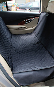 Cat / Dog Car Seat Cover Pet Mats & Pads Waterproof / Portable / Foldable Black Fabric