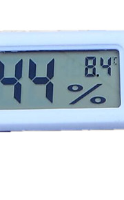 Neutral TMP-10-1 Embedded Digital Hygrometer Electronic Hygrometer Hygrometer FY-11 Black and White (Random Delivery)