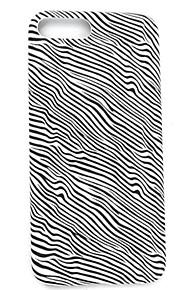 Skal Ultratunn Stripes / Ripples PU-läder Mjuk Fallet täcker för AppleiPhone 7 Plus / iPhone 7 / iPhone 6s Plus/6 Plus / iPhone 6s/6 /