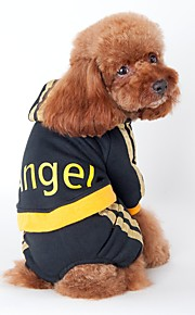 Sporte Style Angle Printing Coat with Hoodie and Pants Jumpsuits for Pets Dogs (Assorted Sizes and Colours)