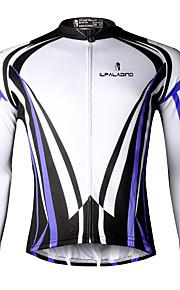 Ilpaladin Sport Men Long Sleeve Cycling Jerseys  CX709 Blue Cool