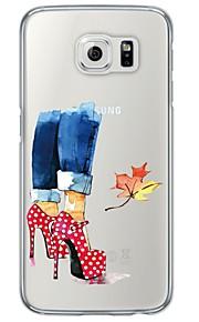 Per retro Ultrasottile / Traslucido Other TPU Morbido Copertura di caso per Samsung GalaxyS7 edge / S7 / S6 edge plus / S6 edge / S6 / S5
